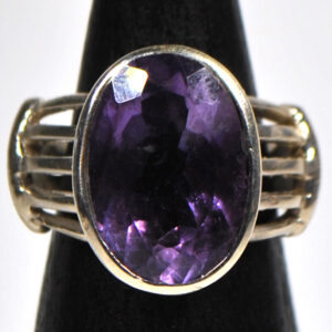 Amethyst Sterling Sliver Ring