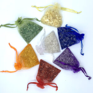 Chakra Stones with Pouch