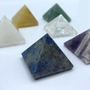 Chakra Pyramid Crystals