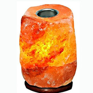 Himalayan Salt Lamp with Essential Oil Diffuser